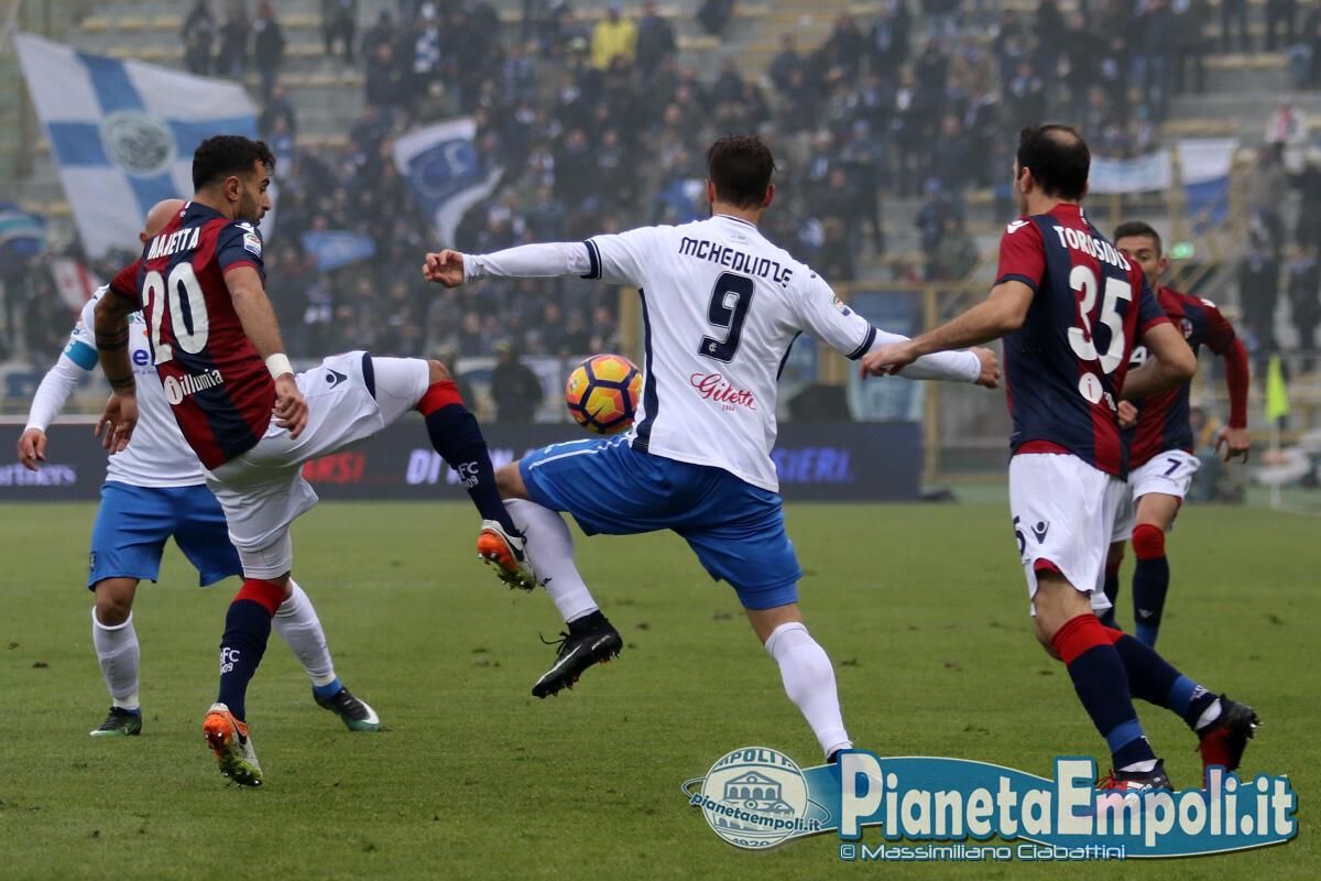 Bologna, con l'Empoli un matchpoint prezioso. Mihajlovic: