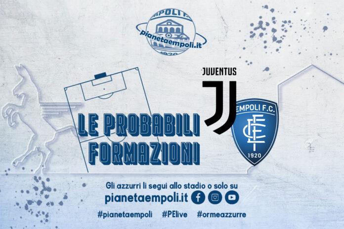 Juventus-Empoli: the liable formations – PianetaEmpoli